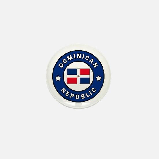 Cute Dominicano Mini Button