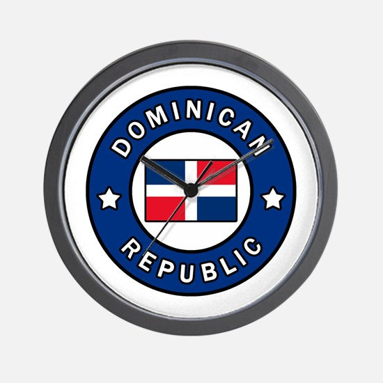 Unique Dominican republic Wall Clock