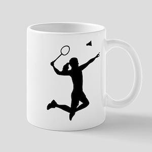 Badminton woman girl Mug