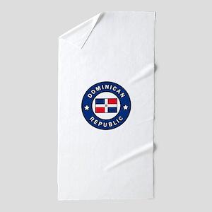 Dominican Republic Beach Towel