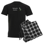 Spinach Junkie Men's Dark Pajamas