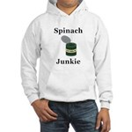 Spinach Junkie Hooded Sweatshirt