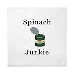 Spinach Junkie Queen Duvet