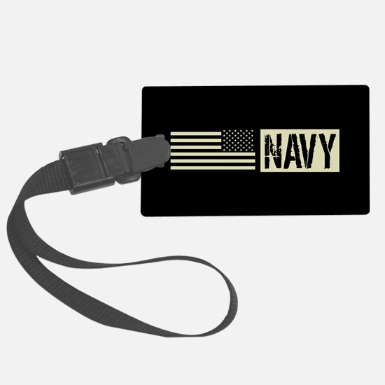 U.S. Navy: Navy (Black Flag) Luggage Tag
