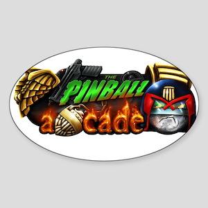 Pinball Arcade Justice Sticker