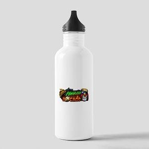 Pinball Arcade Justice Water Bottle
