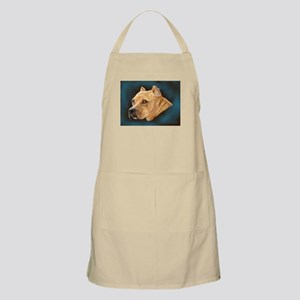 Pitbull Art Portrait Apron