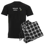 Spinach Addict Men's Dark Pajamas