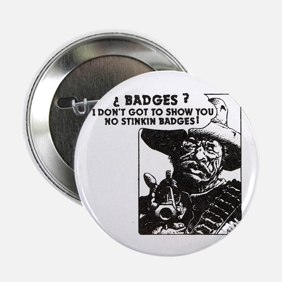 No Steeking Badges Button