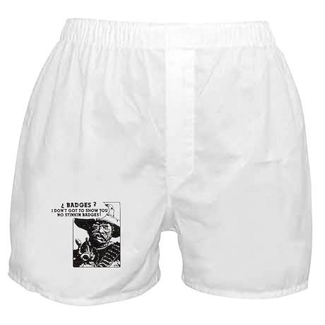 No Steeking Badges Boxer Shorts