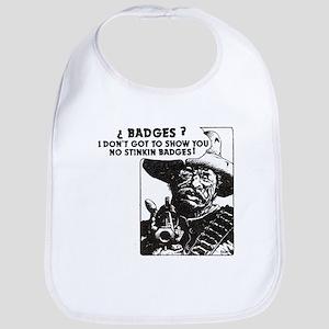 No Steeking Badges Bib