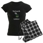 Spinach Addict Women's Dark Pajamas
