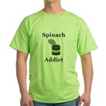 Spinach Addict Green T-Shirt