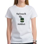 Spinach Addict Women's T-Shirt