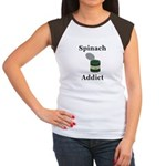 Spinach Addict Junior's Cap Sleeve T-Shirt