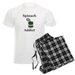 Spinach Addict Men's Light Pajamas