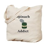 Spinach Addict Tote Bag