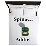 Spinach Addict Queen Duvet