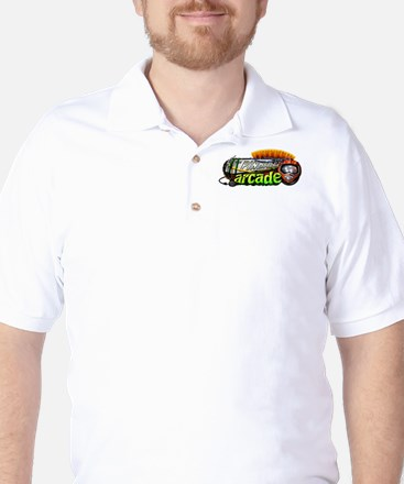 Pinball Arcade Sports Golf Shirt