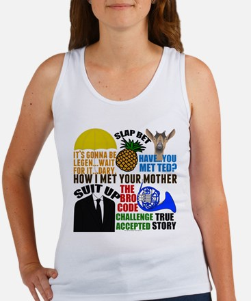 HIMYM Quotes Women's Tank Top
