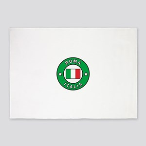 Roma Italia 5'x7'Area Rug