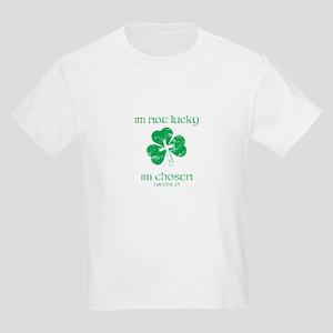 Not Lucky, Chosen 1 Peter 2:9 T-Shirt
