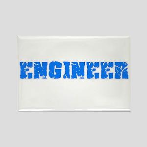 Engineer Blue Bold Design Magnets