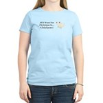 Christmas Chickens Women's Light T-Shirt