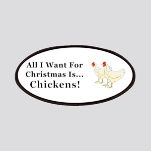 Christmas Chickens Patch