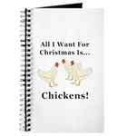 Christmas Chickens Journal