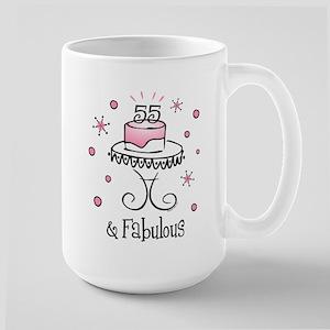 Fabulous 55 Large Mug