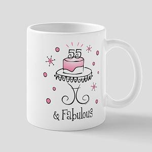 Fabulous 55 Mug