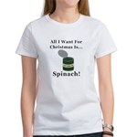 Christmas Spinach Women's T-Shirt