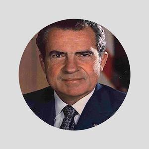President Nixon Button