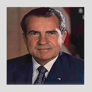 President Nixon Tile Coaster
