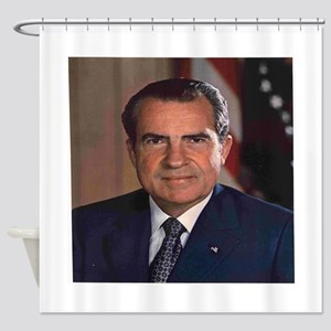 President Nixon Shower Curtain