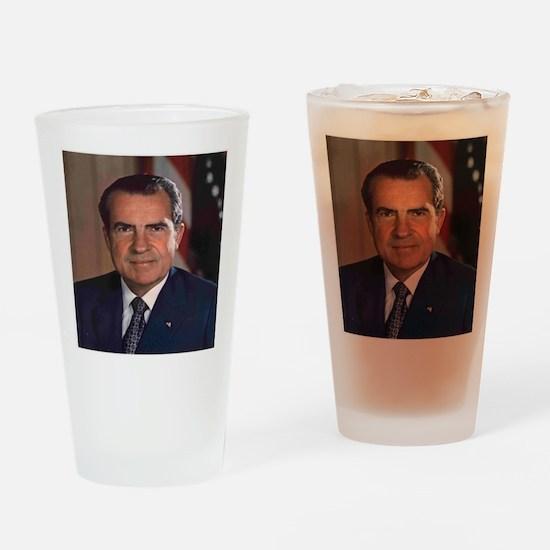 President Nixon Drinking Glass
