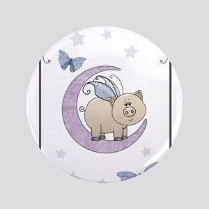 Piggy on the moon II Button