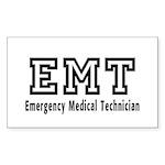 EMT Logo Sticker (Rectangle)