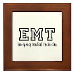 EMT Logo Framed Tile