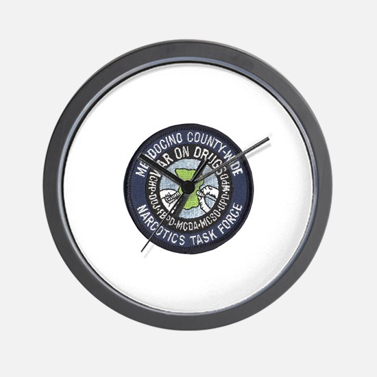 Mendocino Joint Task Force Wall Clock