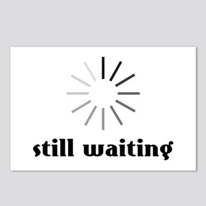 Still Waiting Circle Postcards (Package of 8)