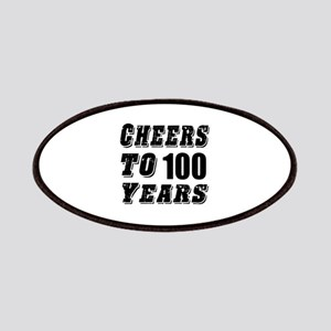 Cheers To 100 Patch