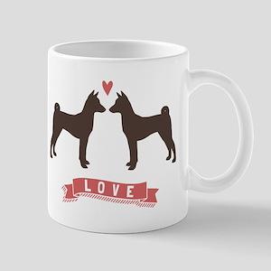 Basenjis Love Mug