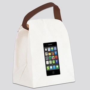 Smartphone Canvas Lunch Bag