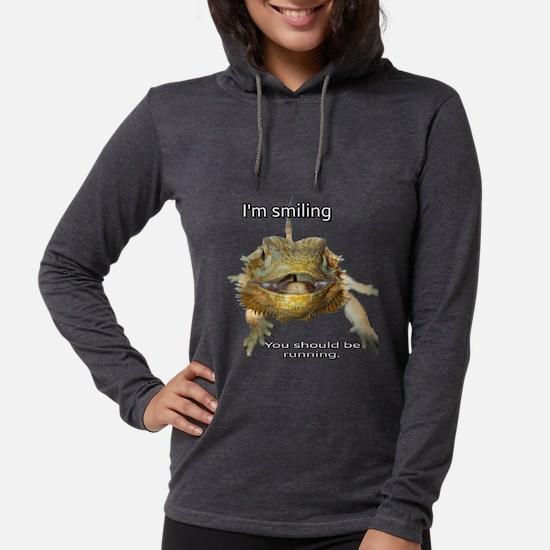 i'm smiling Long Sleeve T-Shirt