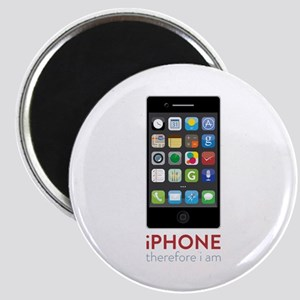 iPhone Therefore I Am Magnets