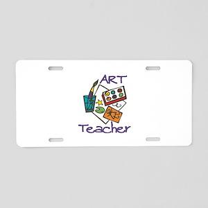 Art Teacher Aluminum License Plate