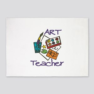 Art Teacher 5'x7'Area Rug