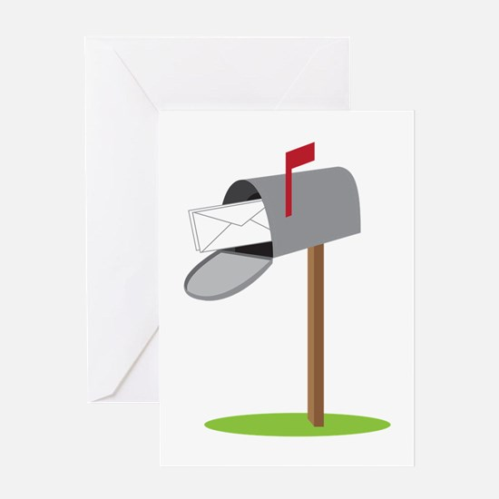 Mailbox & Letter Greeting Cards